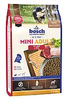 Bosch Mini Adult Lamb & Rice/ Бош Мини Эдалт для собак маленьких пород (ягненок+рис)/ 1кг