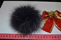 Помпон хутра (песець) колір графіт, фото 1