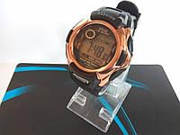 """Мужские спортивные цифровые наручные часы """"Fashion"""" бронзовые"""
