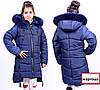 Модная зимняя куртка парка для девочки подростка Украина