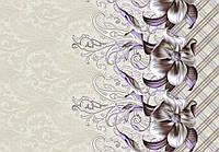Ткань Цветок фиолет 220 см