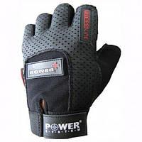Перчатки для фитнеса Power System POWER PLUS PS 2500 L, черный
