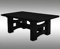 """Деревянный стол """"Черный конь"""""""