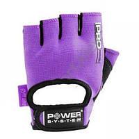 Перчатки для фитнеса Power System PRO GRIP PS 2250 M, фиолетовый