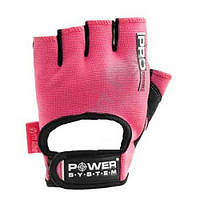 Перчатки для фитнеса Power System PRO GRIP PS 2250 М, розовый