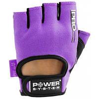 Перчатки для фитнеса Power System PRO GRIP PS 2250 L, фиолетовый
