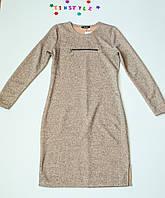 Тепленькое  платье  для девочки  рост 158 см, фото 1