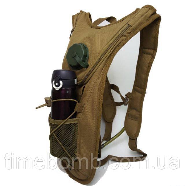 Тактический рюкзак с питьевой системой рюкзак школьный oxford оксфорд черный арт 1008-ox-01