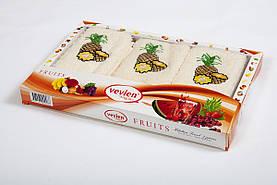 Набор кухонных махровых полотенец Vevien Pineapple 30*50 (3шт.)