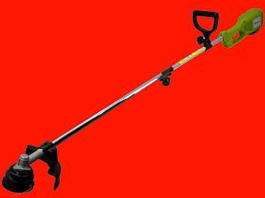 Электрический триммер нож+леска 1,2 кВт GRUNFELD RMTB1200-2
