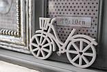 Фоторамка, коллаж рамка для фото с велосипедом, фото 3