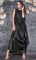 Женское длинное нарядное платье с пайетками Triumf