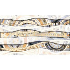 Плитка облицовочная GOLDEN TILE ВЕНЕРА микс 392161 серый (373542), фото 2