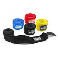 Боксерские бинты для бокса (2шт) Х-б MATSA MA-0030-2,5(BK)