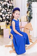 Праздничное детское длинное платье