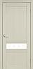 """Двери межкомнатные Корфад """"CL-06 ПО сатин"""" без штапика."""