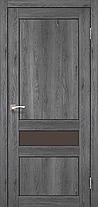 """Двери межкомнатные Корфад """"CL-06 ПО сатин"""" без штапика., фото 3"""