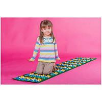 Массажный ортопедический коврик развивающий детский с камнями Onhillsport Стандарт 200*40см (MS-1269)