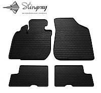 Stingray Модельные автоковрики в салон Рено Логан 2004- Комплект из 4-х ковриков (Черный)