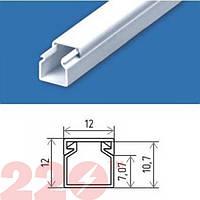Кабельный канал пластик 12х12 мм