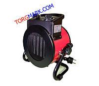 Электрическая тепловая пушка SILVER CROWN 3000 Вт (металлокерамический нагревательный элемент)
