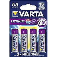 Батарейка VARTA Professional Lithium AA/LR 06 (4шт)