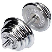 Гантель хромированная Hop-Sport 20 кг