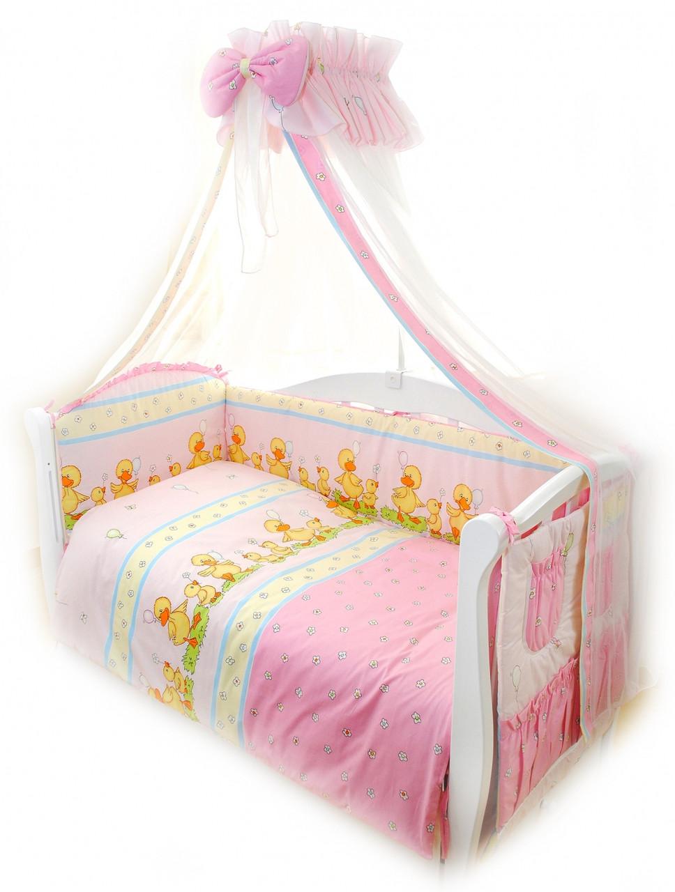Детское постельное белье Twins Standart Basic C-026 Уточки 8 эл