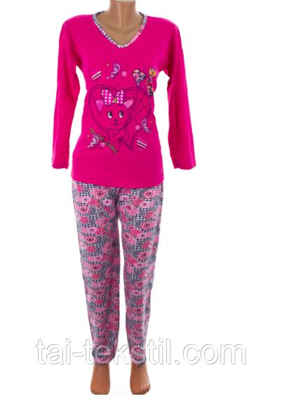 К.S.M пижама женская на байке разные цвета и накатки Турция