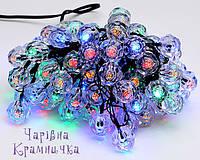 Новогодняя праздничная гирлянда Кристаллы