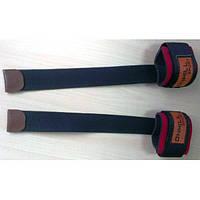 Лямки для турника, тяги и штанги (кистевые ремни) тканевые с фиксатором Onhillsport (OS-0372)