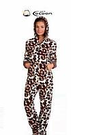Женская слитная пижама комбинезон Турция LA-5001
