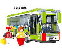 """Конструктор  AUSINI 25604  """"Городской автобус"""" 274 деталей в коробке 35*25*5,5   см."""