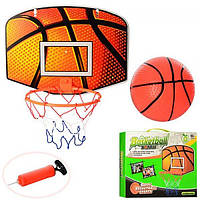 Баскетбольное кольцо с насосом и мячем Profi (M 2984)