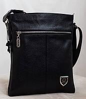 Philipp Plein двухсторонняя кожаная мужская сумка. 100% Натуральная кожа!