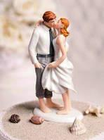 """Фигурка на свадебный торт """"Жених и невеста"""", красивые и оригинальные свадебные фигурки"""