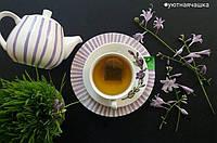 """Набор фарфоровой посуды с ручной росписью """"Фиолетовые колокольчики"""""""