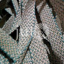 Декоративная лента (джутовая), 18 мм, X-узор., фото 3