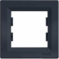 Рамка Schneider-Electric Asfora Plus 1-пост антрацит EPH5800171