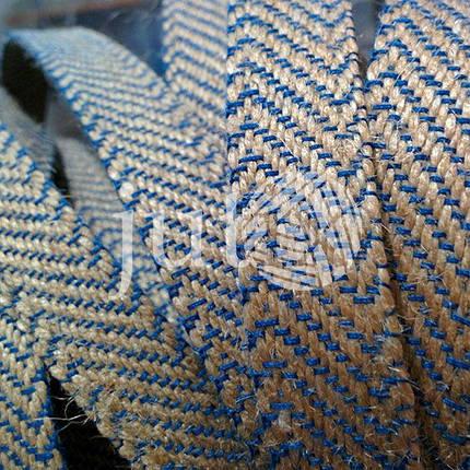 Декоративная лента (джутовая), 18 мм, Z-узор., фото 2