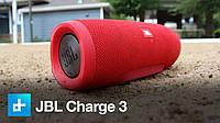 Колонка JBL Charge 3 с USB, SD, FM, Bluetooth, 2-динамиками и 2-сабвуферами