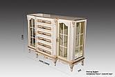 """Буфет классическом стиле """"Регина"""" со стеклянными фасадами"""