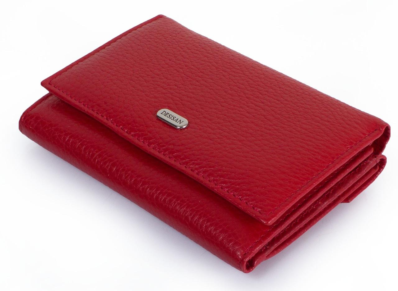 08c5dd3bee25 Красивый женский кожаный кошелек DESISAN SHI305-4, цвет розовый. -  SUPERSUMKA интернет магазин
