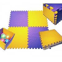 Детский игровой коврик пазл (мат татами, ласточкин хвост) OSPORT размер 200x150 см (FI-0092)