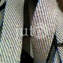 Декоративная лента (джутовая), 36 мм, S-узор., фото 3