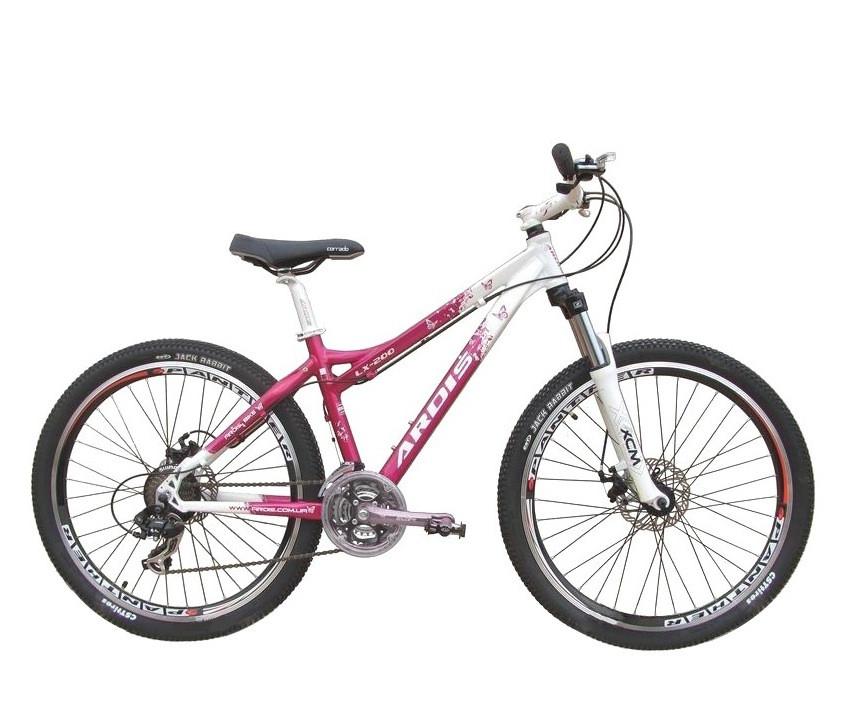 """Подростковый велосипед  ARDIS LX-200  EGO 24"""" 15""""  Белый/Розовый"""