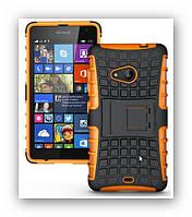 Лучший чехол броня для Microsoft Lumia 532, жесткий двухслойный