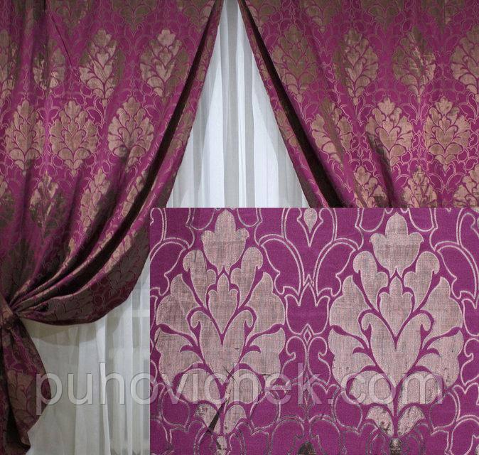 Модный комплект штор для гостинной и зала