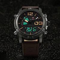 Мужские часы Naviforce Life, модель NF9095bcedbn, цвет корпуса черный
