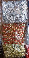 """Банты широкие для новогодней елки """"Парча"""" (упаковка 10 шт, цвета в ассортименте)"""